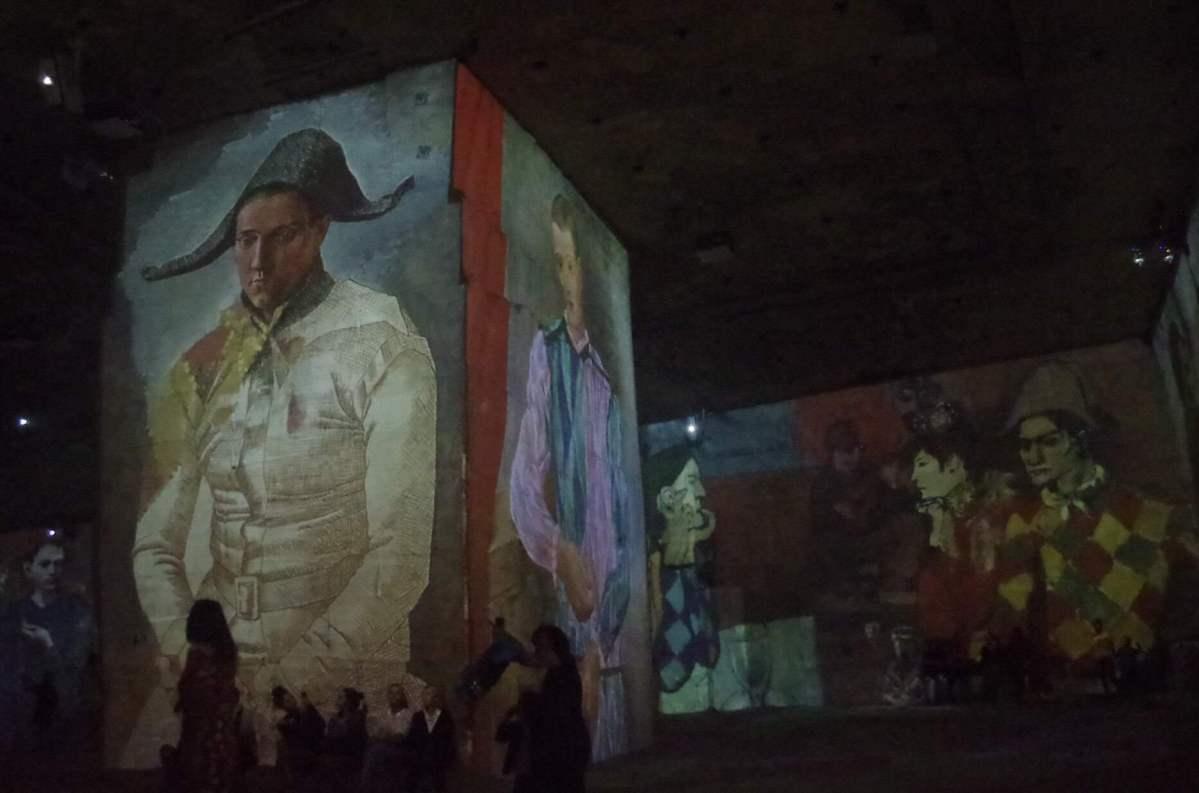 Picasso en Les Carrières de Lumières