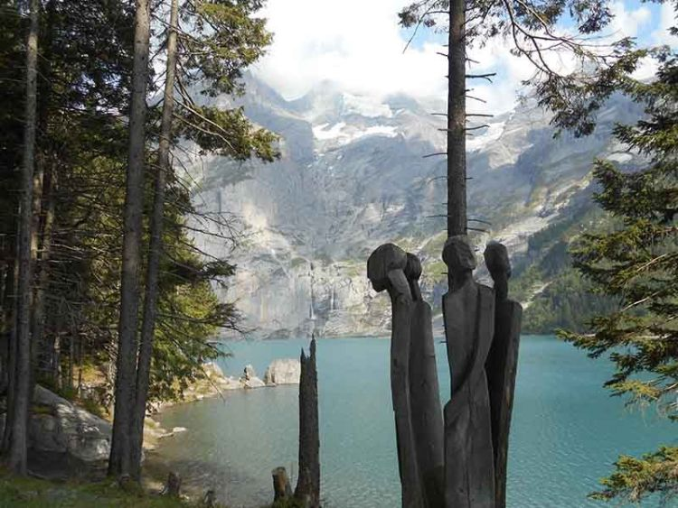 Lago Oeschinensee, Suiza