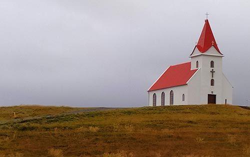 Iglesia de madera de Hellissandur