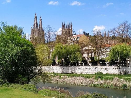 Catedral de Burgos y Espolón