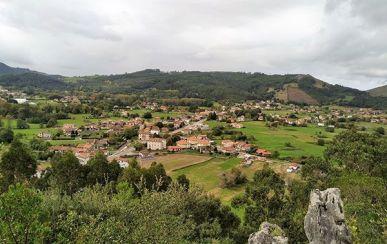 Vista valle de Liendo