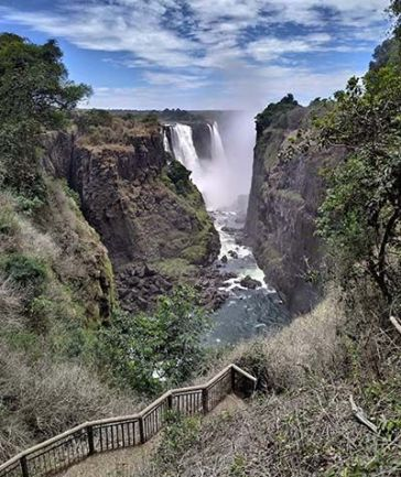 Vista Cataratas Victoria