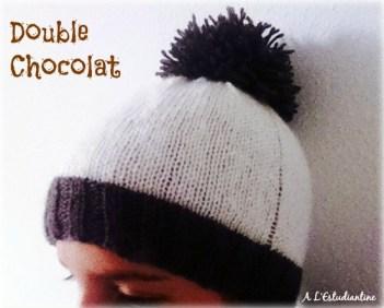 bonnet double chocolat