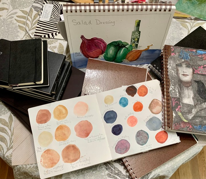 Sketchbooks How and Why and My Favorites