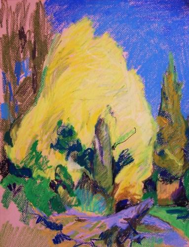 study-of-yellow-tree