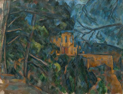 Paul Cézanne, Château Noir, French, 1839 - 1906, 1900/1904, oil on canvas, Gift of Eugene and Agnes E. Meyer