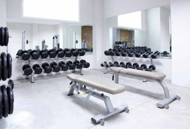 Use the hotel gym to help you workout on vacation