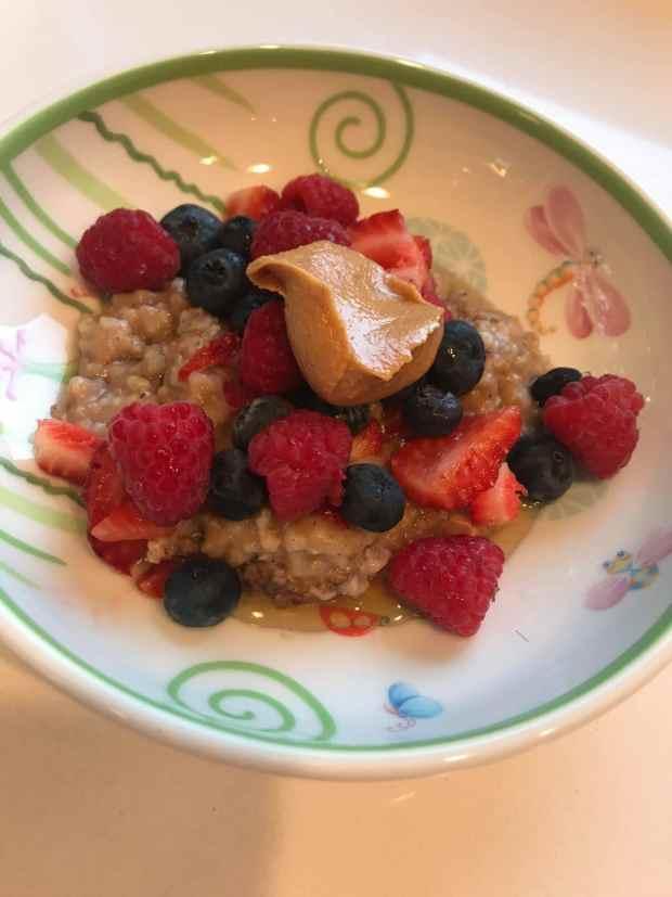 Crockpot oatmeal breakfast recipe by Alethia True Fit By You