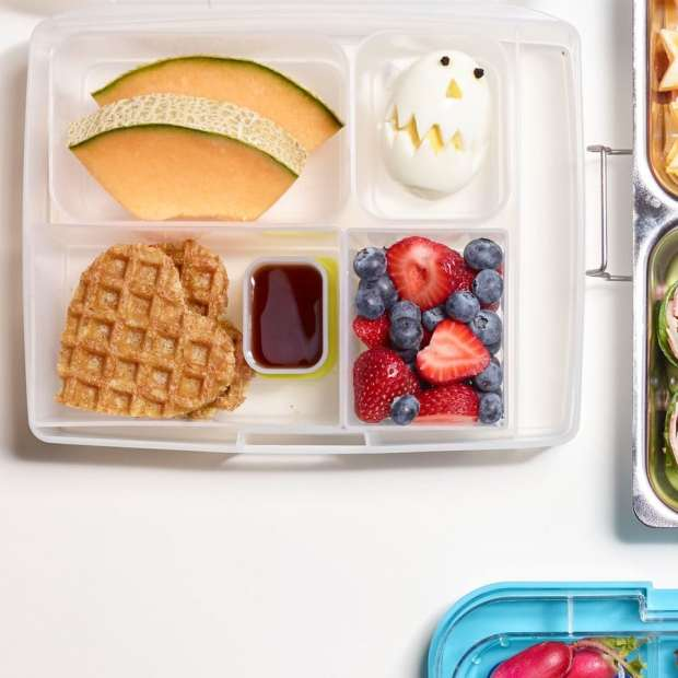 Breakfast for Lunch is a healthy lunchbox option for kids