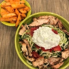 Chicken Gyro Wraps or Bowls Recipe by Alethia True Fit By You