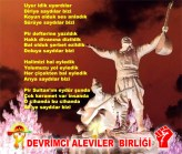 Alevi Bektaşi Kızılbaş Pir Sultan Devrimci Aleviler Birliği DAB uyrarsıler bizi