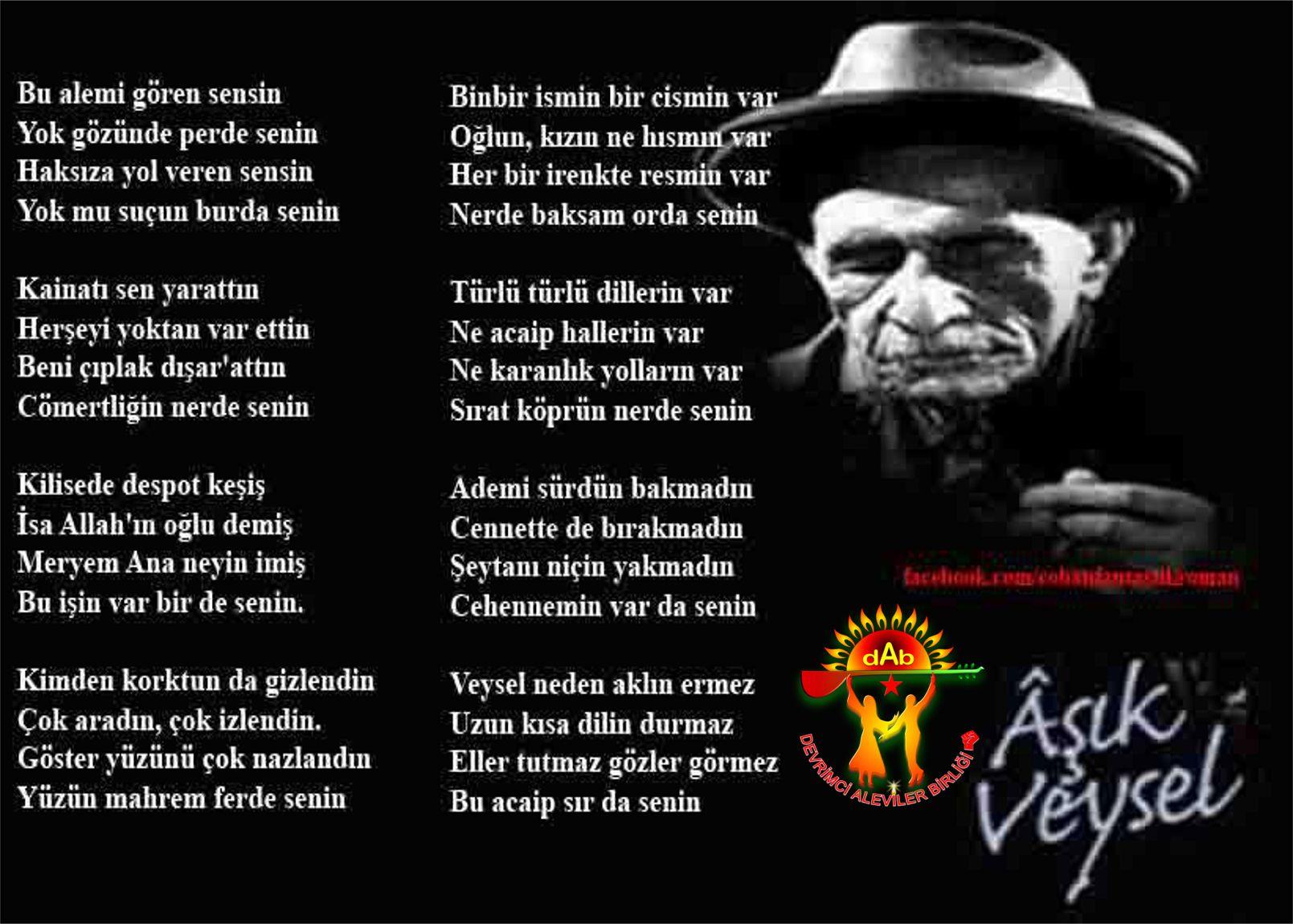 Alevi Bektaşi Kızılbaş Pir Sultan Devrimci Aleviler Birliği DAB veysel1