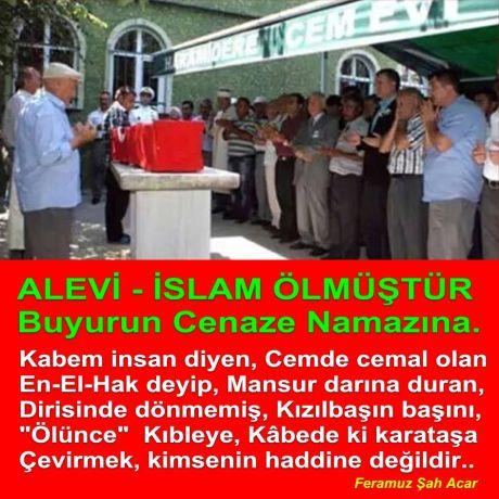 alevi islam öldü buyurun cenaze namazina Devrimci aleviler birligi DAB