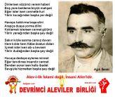 Alevi Bektasi Kizilbas Pir Sultan Islam disi Atatürk fasist ehlibeyt 12 imam Devrimci Aleviler Birligi DAB ibreti alevi