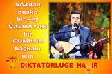 Devrimci Aleviler Birliği DAB Alevi Kızılbaş Bektaşi pir sultan cem hz Ali 12 imam semah Feramuz Şah Acar 29 hayir saz baskan