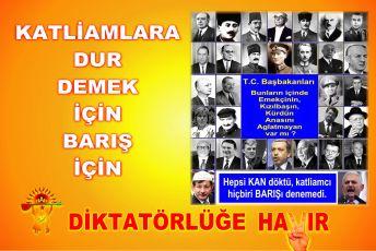 Devrimci Aleviler Birliği DAB Alevi Kızılbaş Bektaşi pir sultan cem hz Ali 12 imam semah Feramuz Şah Acar 30 hayir basbakan kan katliam