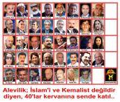 Devrimci Aleviler Birliği DAB Alevi Kızılbaş Bektaşi pir sultan cem hz Ali 12 imam semah Feramuz Şah Acar 40lar