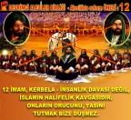 Devrimci Aleviler Birliği DAB Alevi Kızılbaş Bektaşi pir sultan cem hz Ali 12 imam semah Feramuz Şah Acar REFORM ÖNERİ 12