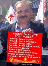 Devrimci Aleviler Birliği DAB Alevi Kızılbaş Bektaşi pir sultan cem hz Ali 12 imam semah Feramuz Şah Acar dab feramuz alevi varda bizmi üye olmadik