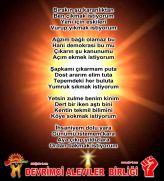 Devrimci Aleviler Birliği DAB Alevi Kızılbaş Bektaşi pir sultan cem hz Ali 12 imam semah Feramuz Şah Acar ihsani yumruk sikmak istiyorum
