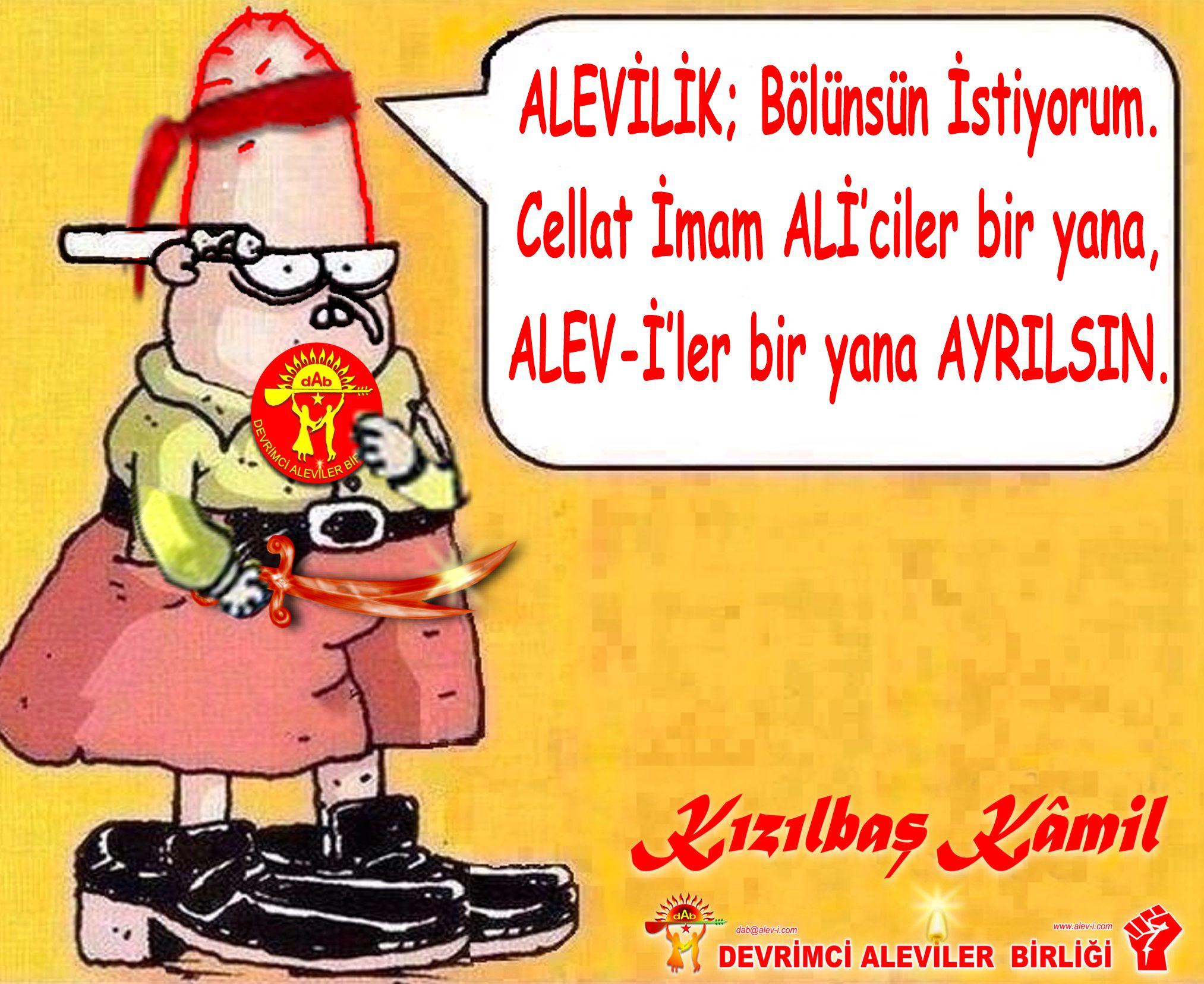 Devrimci Aleviler Birliği DAB Alevi Kızılbaş Bektaşi pir sultan cem hz Ali 12 imam semah Feramuz Şah Acar kizilbas kamil bolucu