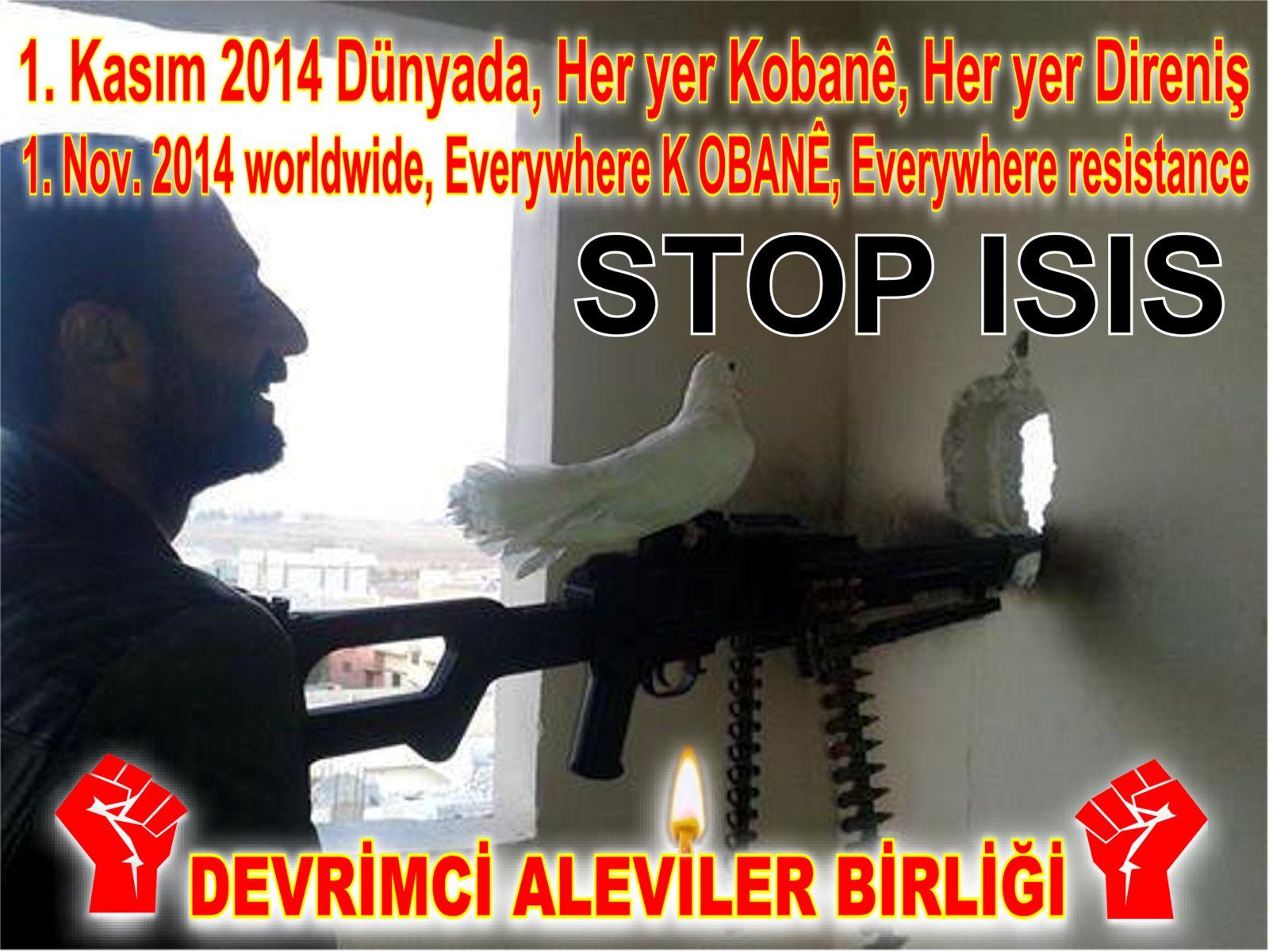 Devrimci Aleviler Birliği DAB Alevi Kızılbaş Bektaşi pir sultan cem hz Ali 12 imam semah Feramuz Şah Acar kobane baris 1 kasim