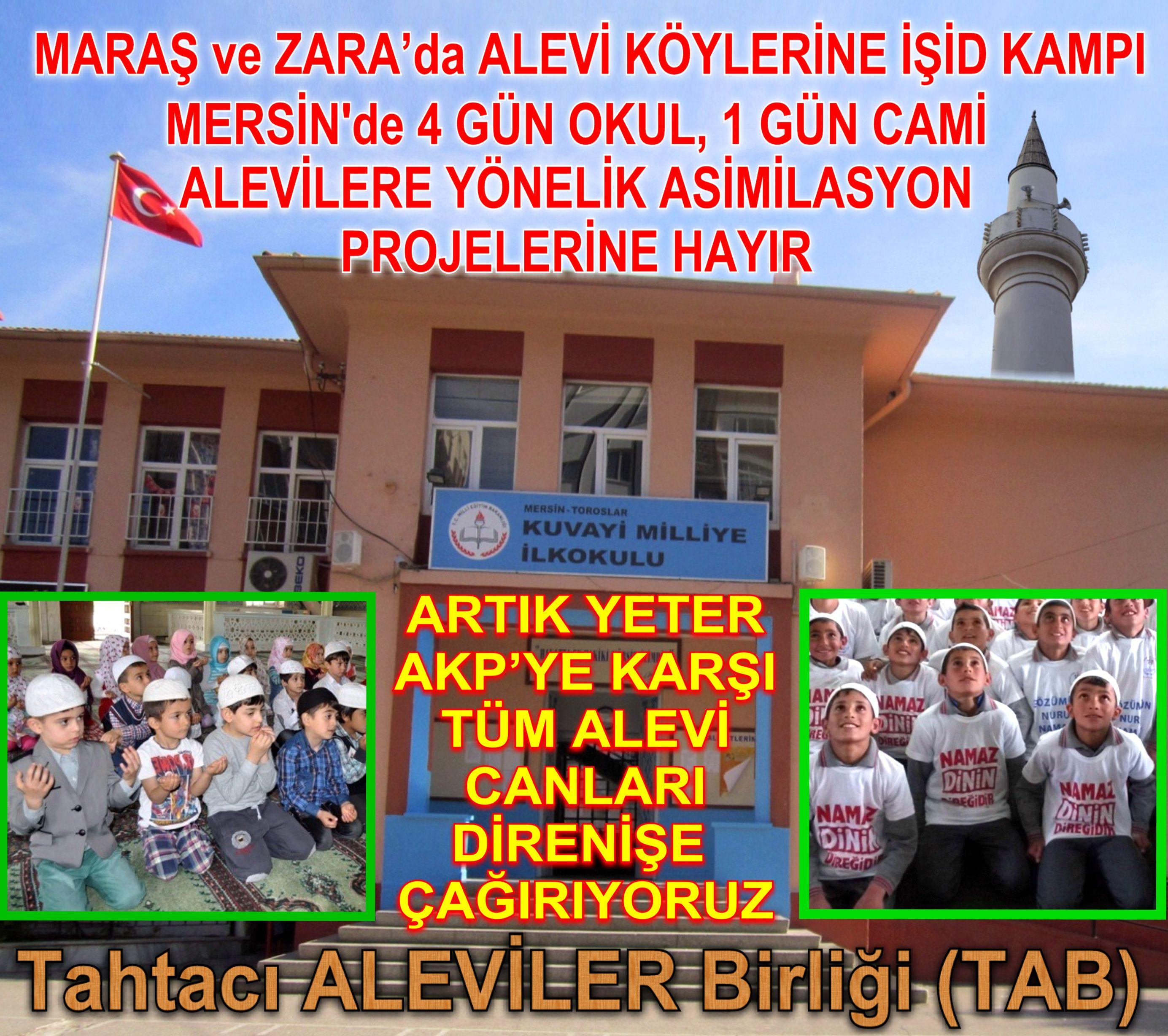 Devrimci Aleviler Birliği DAB Alevi Kızılbaş Bektaşi pir sultan cem hz Ali 12 imam semah Feramuz Şah Acar mersin okul camii67