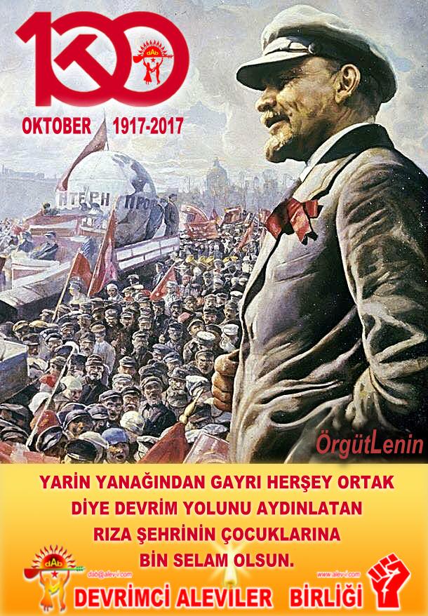 Devrimci Aleviler Birliği DAB Alevi Kızılbaş Bektaşi pir sultan cem hz Ali 12 imam semah Feramuz Şah Acar örgütlenin DAB OKTOBER 100 2017