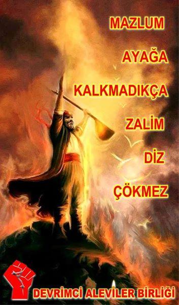 Devrimci Aleviler Birliği DAB Alevi Kızılbaş Bektaşi pir sultan cem hz Ali 12 imam semah Feramuz Şah Acar photo_401411196673942