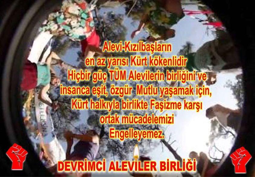 Devrimci Aleviler Birliği DAB Alevi Kızılbaş Bektaşi pir sultan cem hz Ali 12 imam semah Feramuz Şah Acar photo_512299915585069