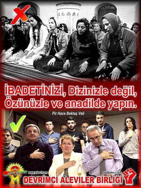 Devrimci Aleviler Birliği DAB Alevi Kızılbaş Bektaşi pir sultan cem hz Ali 12 imam semah Feramuz Şah Acar photo_526529830828744