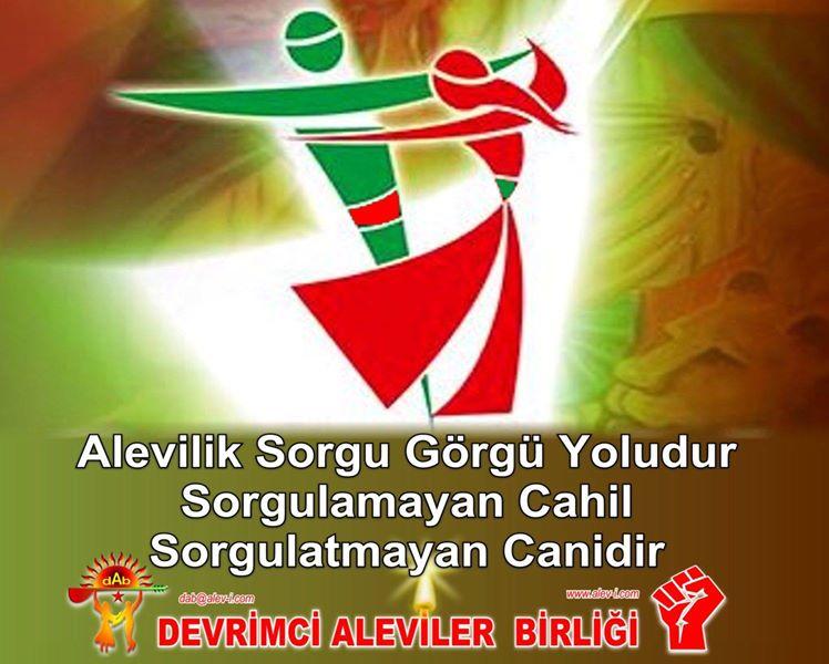 Devrimci Aleviler Birliği DAB Alevi Kızılbaş Bektaşi pir sultan cem hz Ali 12 imam semah Feramuz Şah Acar photo_684044678410591