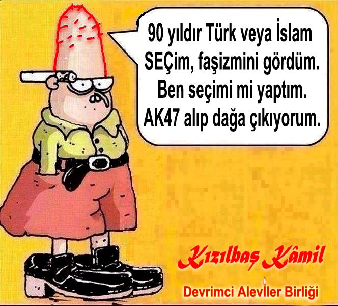 Devrimci Aleviler Birliği DAB Alevi Kızılbaş Bektaşi pir sultan cem hz Ali 12 imam semah Feramuz Şah Acar seçim kizilbas kamil