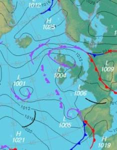 What is  synoptic weather chart also charts and climate rh alevelweatherandclimate weebly