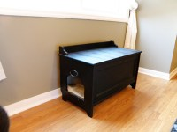 DIY Cat Litter Box Furniture | alewood furniture co