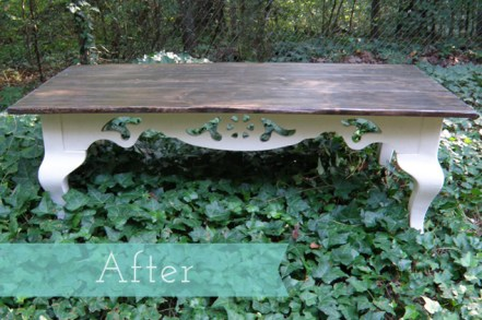 Coffee Table After