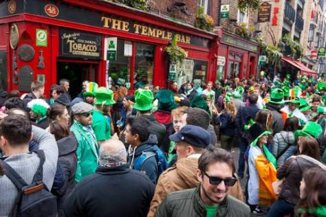 Pub Temple Bar w Dublinie