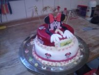 Minnie gratuliert