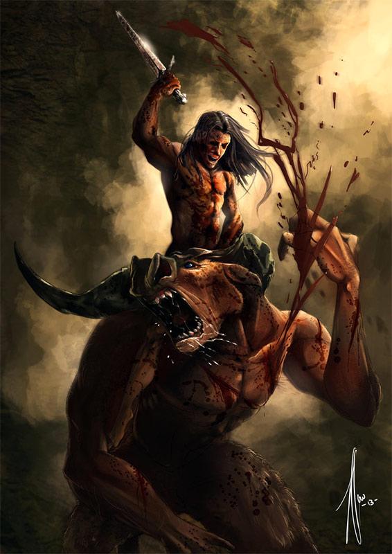 Qui A Tué Le Minotaure : minotaure, Thésée,, Vainqueur, Minotaure, Labyrinthe, Dédale, Mythologie, Grecque, Mythes