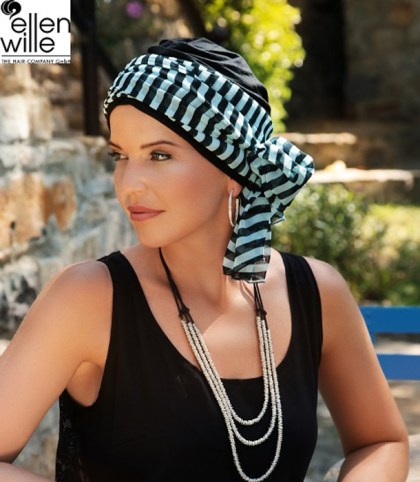 Foto del turbante Garbo de Ellen Wille