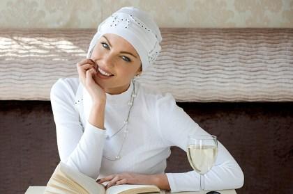 Rosalind turban Yanna White Spiral