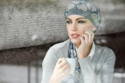 Foto del turbante Yanna Grey Diamond
