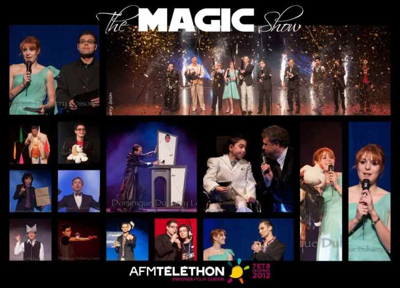 The Magic Show - magic Telethon show