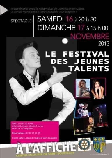 Festival des jeunes Talents - saint soupplet / rotary club