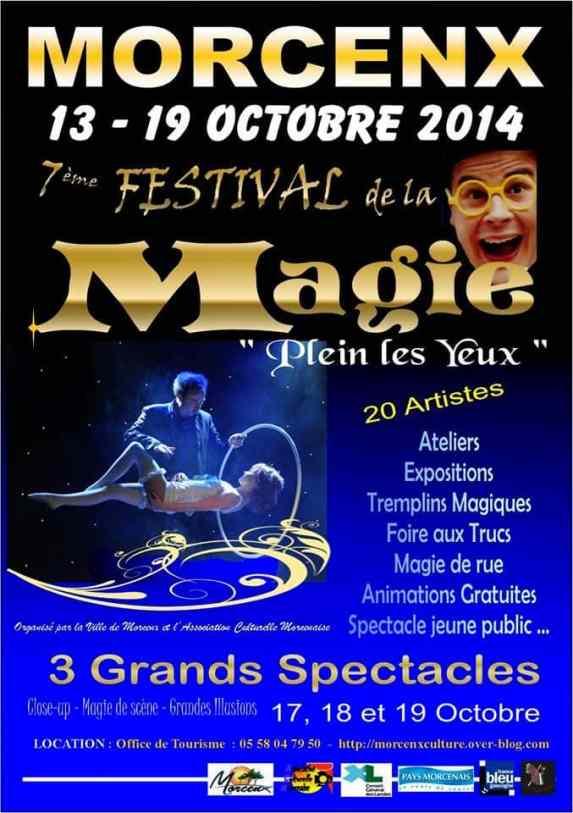 festival de magie morcenx spectacle