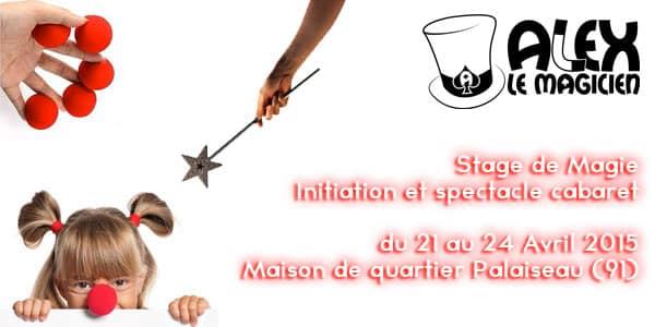 stage de magie magicien palaiseau 91120
