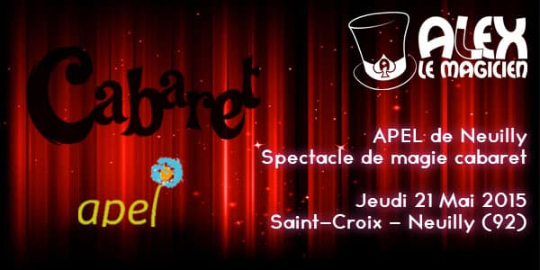 APEL de neuilly saint-croix cabaret