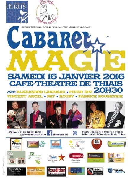 cabaret magie Thiais 94