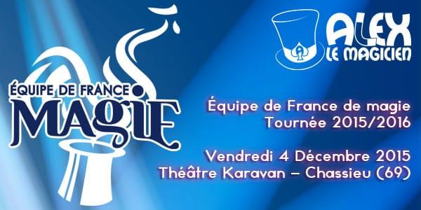 Théâtre le Karavan chassieu spectacle de magie