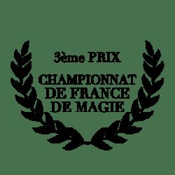3eme prix championnat de france magie